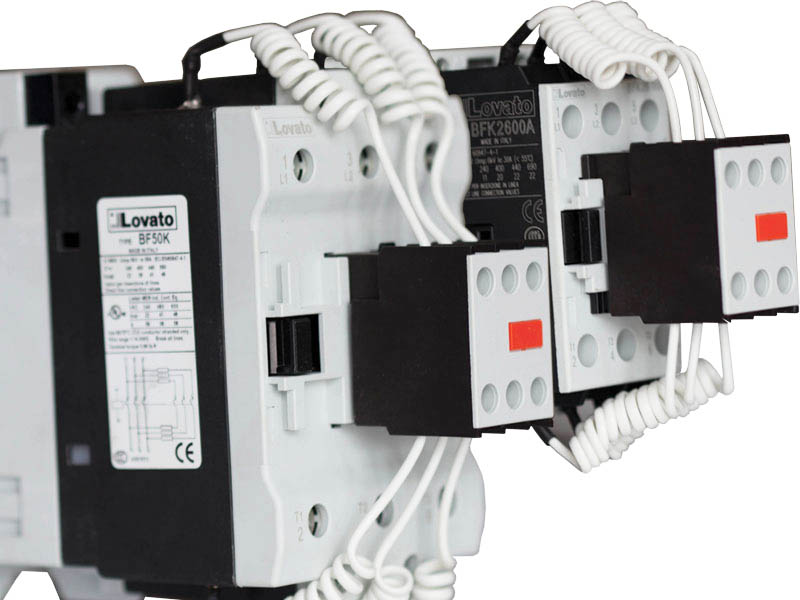 Контактор Lovato Electric 12,5 кВар/3P CONTACTOR 12,5KVAR 230V 50/60HZ 2